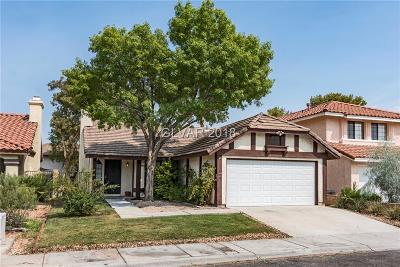 Las Vegas Single Family Home Under Contract - No Show: 3016 Waterview Drive