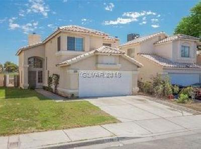 Las Vegas Single Family Home Under Contract - No Show: 5208 Silverheart Avenue