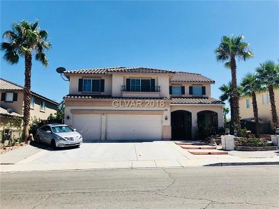 Las Vegas Single Family Home Under Contract - No Show: 7889 Mosaic Harbor Avenue