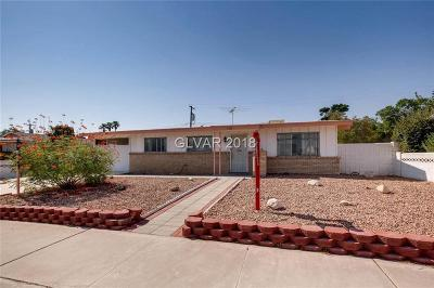 Las Vegas NV Single Family Home Under Contract - Show: $189,900