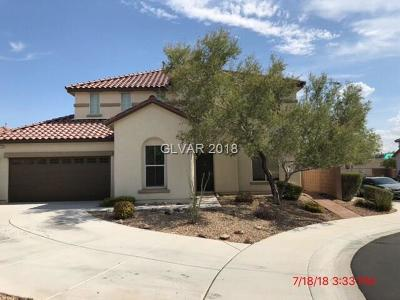 North Las Vegas Single Family Home For Sale: 4912 Madre Maria Court
