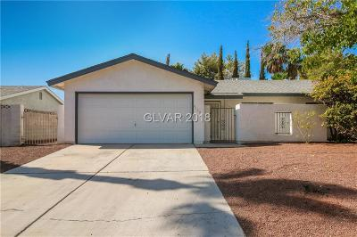 Las Vegas NV Single Family Home Under Contract - No Show: $254,000