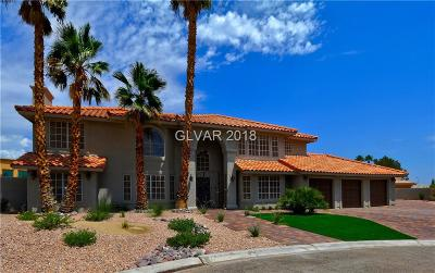 Las Vegas Single Family Home For Sale: 2620 Buffalo Drive