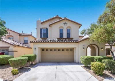 North Las Vegas Single Family Home Under Contract - No Show: 6021 Copper Lakes Street