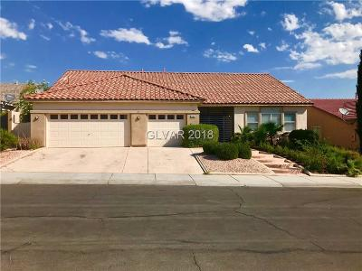 Las Vegas Single Family Home Under Contract - No Show: 9708 Drumcannon Avenue