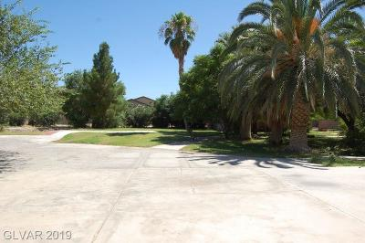 North Las Vegas Single Family Home Under Contract - No Show: 4105 Fuselier Drive