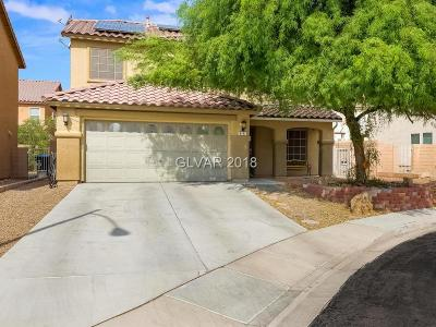 North Las Vegas Single Family Home For Sale: 6141 Kinderhook Court