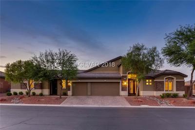 Las Vegas NV Single Family Home For Sale: $775,000