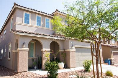Las Vegas, North Las Vegas, Henderson Single Family Home For Sale: 9284 Valley Betica Avenue
