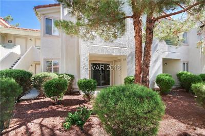 Las Vegas NV Condo/Townhouse For Sale: $182,500