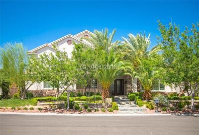 Las Vegas Single Family Home Under Contract - Show: 7750 Pleasant Slopes Court