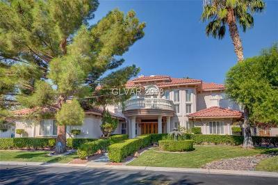 Las Vegas NV Single Family Home For Sale: $999,999