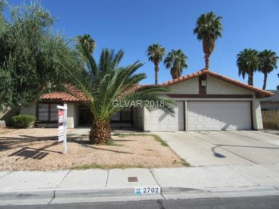 Henderson Single Family Home For Sale: 2702 Osborne Lane
