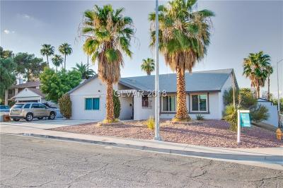 Las Vegas Single Family Home For Sale: 2550 Carruth Court