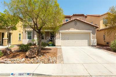 Henderson Single Family Home For Sale: 1184 Hollow Reed Court