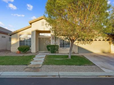 Las Vegas Single Family Home For Sale: 7072 Painted Paradise Street