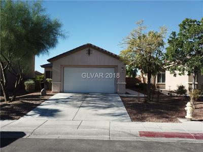 North Las Vegas Single Family Home For Sale: 3009 Dowitcher Avenue