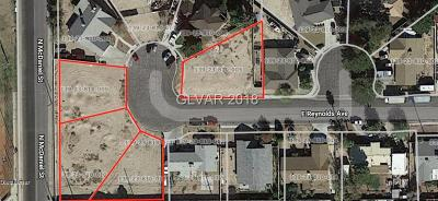 North Las Vegas Residential Lots & Land Under Contract - No Show: Reynolds Avenue