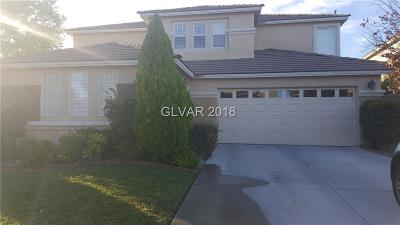 Las Vegas, North Las Vegas, Henderson Single Family Home For Sale: 2226 Tedesca Drive