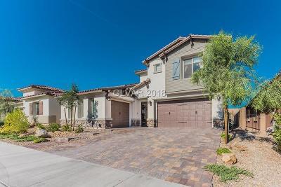 Las Vegas NV Single Family Home For Sale: $599,000