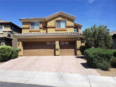 North Las Vegas Single Family Home For Sale: 104 Buffalo Gap Court