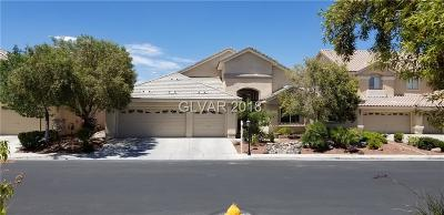 Las Vegas Single Family Home For Sale: 5812 Amber Station Avenue