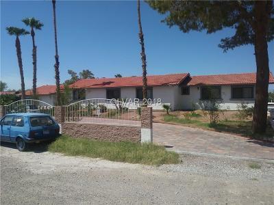 Las Vegas, North Las Vegas, Henderson Single Family Home For Sale: 155 Spanish Drive