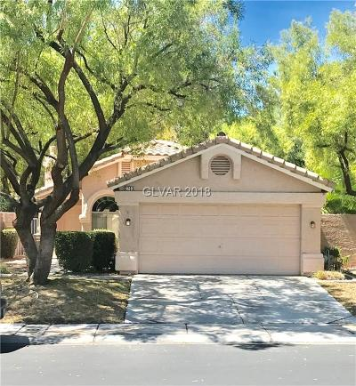 Las Vegas Single Family Home Under Contract - No Show: 2763 Sweet Willow Lane