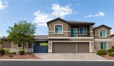 Las Vegas Single Family Home For Sale: 6967 Casa Encantada Street