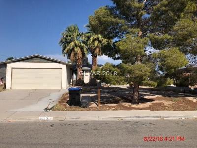 Blue Diamond, Boulder City, Henderson, Las Vegas, North Las Vegas, Pahrump Single Family Home For Sale: 2612 Fair Oaks Place