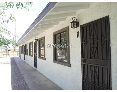 Las Vegas Multi Family Home For Sale: 2518 McCarran Street