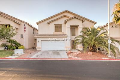 Las Vegas Single Family Home Under Contract - No Show: 8612 Honey Vine Avenue