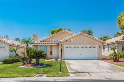 Las Vegas Single Family Home Under Contract - No Show: 5101 Cedar Lawn Way