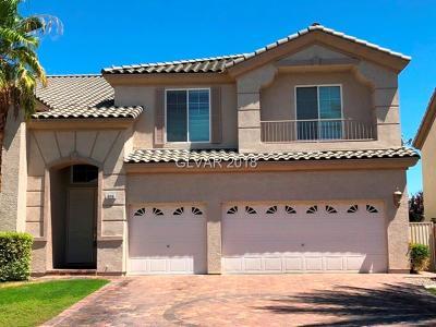 Las Vegas Single Family Home For Sale: 4316 Spooner Lake Circle