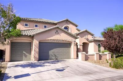 North Las Vegas Single Family Home For Sale: 3612 Fledgling Drive