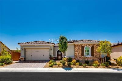 Henderson Single Family Home For Sale: 2543 Desante Drive