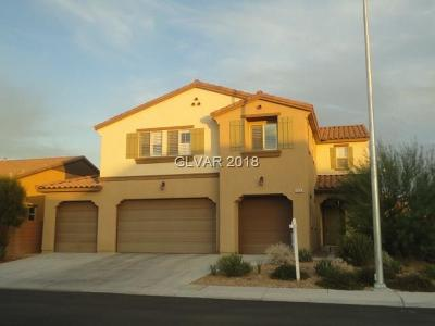 North Las Vegas Single Family Home For Sale: 6625 Salt Basin Street