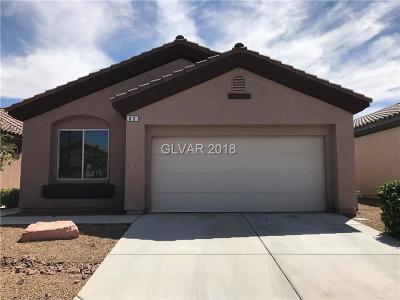 Las Vegas Single Family Home For Sale: 63 South Island Course Avenue