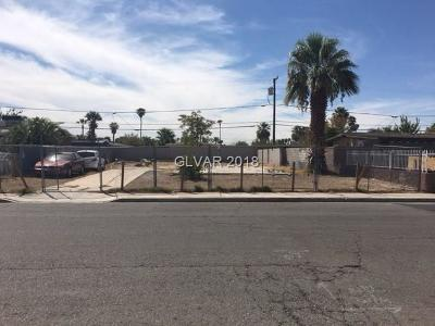 North Las Vegas Residential Lots & Land Under Contract - No Show: 2605 Taylor Avenue