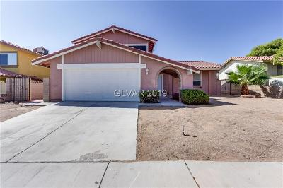 Las Vegas NV Single Family Home For Sale: $341,500