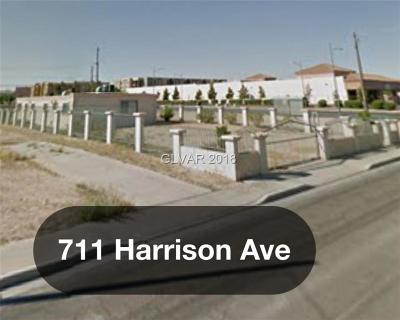 North Las Vegas Multi Family Home For Sale: 711 Harrison Avenue