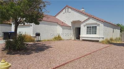 North Las Vegas Single Family Home Under Contract - No Show: 1416 Frost Flower Drive