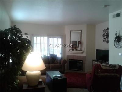 NORTH LAS VEGAS Condo/Townhouse For Sale: 3318 Decatur Boulevard #1142