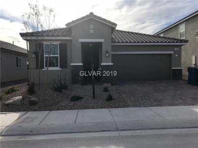 North Las Vegas Single Family Home For Sale: 1509 Deep Valley Avenue