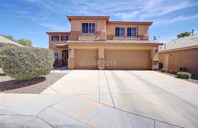 North Las Vegas Single Family Home Under Contract - No Show: 1744 Evening Bluff Place