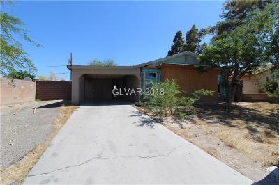 Las Vegas Single Family Home Under Contract - No Show: 4443 Carey Avenue