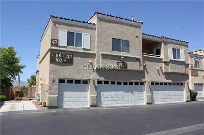 North Las Vegas Condo/Townhouse Under Contract - Show: 3932 Smokey Fog Avenue #201