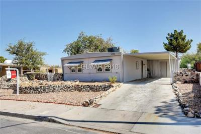 Las Vegas Manufactured Home For Sale: 272 Sir Phillip Street