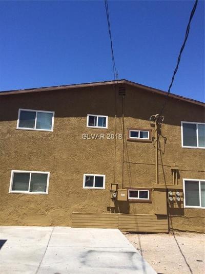 las vegas Multi Family Home For Sale: 509 McKellar Circle