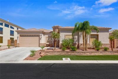 Las Vegas Single Family Home For Sale: 7628 Noche Oscura Circle